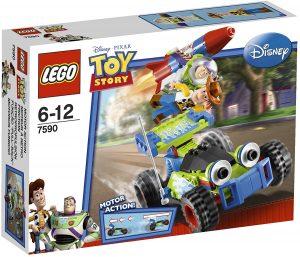 Sets de LEGO de Toy Story - Juguete de construcción de LEGO de Toy Story de Woody, Buzz y RC 7590