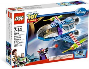 Sets de LEGO de Toy Story - Juguete de construcción de LEGO de Toy Story de la Nave Espacial del Comando Estelar de Buzz 7593