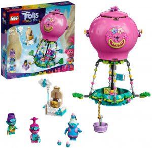 Sets de LEGO de Trolls - Juguete de construcción de LEGO de Aventura en Globo de Poppy 41252 de Trolls World Tour