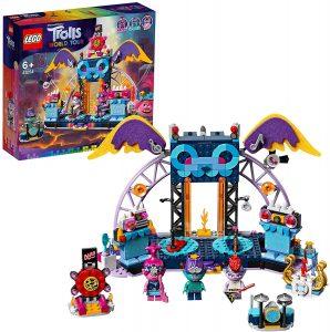 Sets de LEGO de Trolls - Juguete de construcción de LEGO de Concierto en Volcano Rock City 41254 de Trolls World Tour