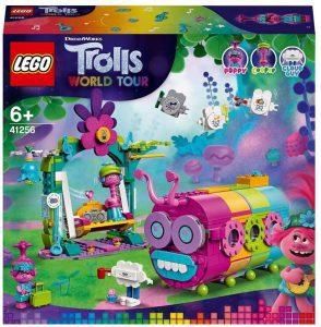 Sets de LEGO de Trolls - Juguete de construcción de LEGO de Mundo Tour Arcoiris Caterbus 41256 de Trolls World Tour