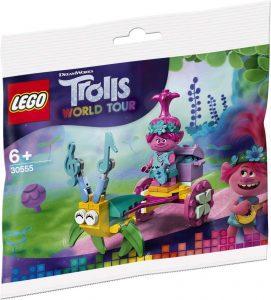 Sets de LEGO de Trolls - Juguete de construcción de LEGO de Poppys Carro Polybag 30555 de Trolls World Tour