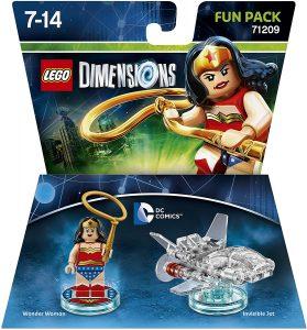 Sets de LEGO de Wonder Woman - Juguete de construcción de LEGO Dimensions de Wonder Woman de Pack de Diversión 71209 de DC