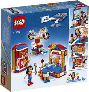 Sets de LEGO de Wonder Woman - Juguete de construcción de LEGO de Dormitorio de Wonder Woman 41235 de DC