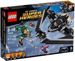 Sets de LEGO de Wonder Woman - Juguete de construcción de LEGO de Héroes de la Justicia Combate aéreo 76046 de DC