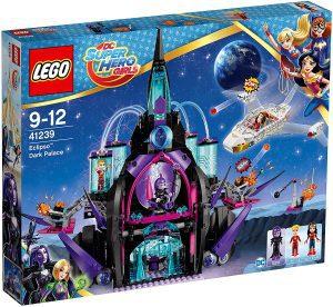 Sets de LEGO de Wonder Woman - Juguete de construcción de LEGO de Palacio Oscuro de Eclipso 41239 de DC