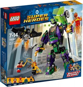 Sets de LEGO de Wonder Woman - Juguete de construcción de LEGO de Robot de Lex Luthor 76097 de DC