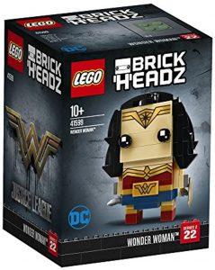Sets de LEGO de Wonder Woman - Juguete de construcción de LEGO de Wonder Woman BrickHeadz 41599 de DC