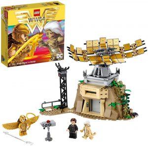 Sets de LEGO de Wonder Woman - Juguete de construcción de LEGO de Wonder Woman vs Cheetah 76157 de DC