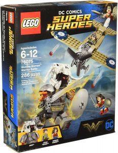 Sets de LEGO de Wonder Woman - Juguete de construcción de LEGO de Wonder Woman y Steve Trevor vs Ares 76075 de DC
