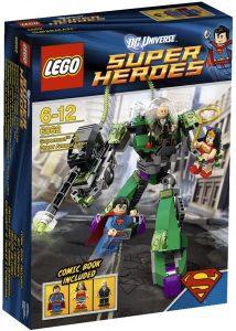 Sets de LEGO de Wonder Woman - Juguete de construcción de LEGO de Wonder Woman y Superman vs Lex Luthor 6862 de DC