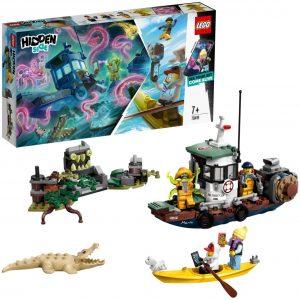 Sets de LEGO de barcos - Juguete de construcción de LEGO Barco de Pesca Hidden Side 70419
