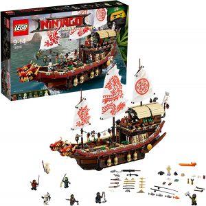 Sets de LEGO de barcos - Juguete de construcción de LEGO Barco de asalto ninja 70618