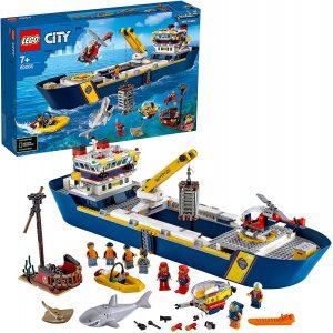 Sets de LEGO de barcos - Juguete de construcción de LEGO Buque de Exploración de Aguas Profundas 60266