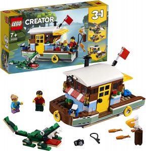Sets de LEGO de barcos - Juguete de construcción de LEGO Creator 3 en 1 de Casa flotante 31093