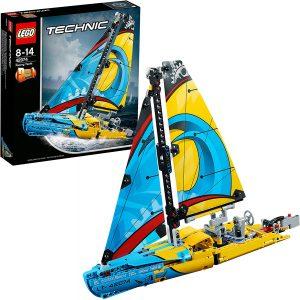 Sets de LEGO de barcos - Juguete de construcción de LEGO Technic de Barco de Competición 42074