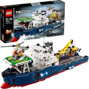 Sets de LEGO de barcos - Juguete de construcción de LEGO Technic de Explorador oceánico 42064