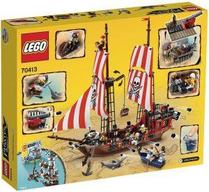 Sets de LEGO de barcos - Juguete de construcción de LEGO de Barco Pirata 70413