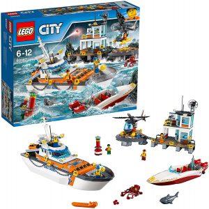 Sets de LEGO de barcos - Juguete de construcción de LEGO de Guardacostas 60167
