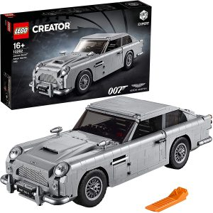 Sets de LEGO de coches - Juguete de construcción de LEGO Creator de Aston Martin DB5 10262 de James Bond de LEGO