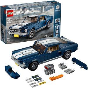 Sets de LEGO de coches - Juguete de construcción de LEGO Creator de Ford Mustang 390 de 1967 10271 de LEGO