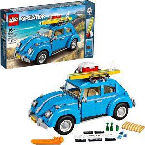 Sets de LEGO de coches - Juguete de construcción de LEGO Creator de Volkswagen Escarabajo Azul 10252 de LEGO - Volkswagen Beetle