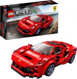 Sets de LEGO de coches - Juguete de construcción de LEGO Speed de Ferrari F8 76895