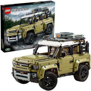 Sets de LEGO de coches - Juguete de construcción de LEGO Technic de Land Rover Defender 42110