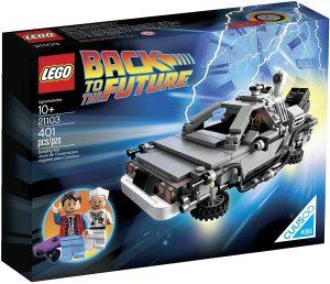 Sets de LEGO de coches - Juguete de construcción de LEGO de Delorean 21103 de Regreso al Futuro