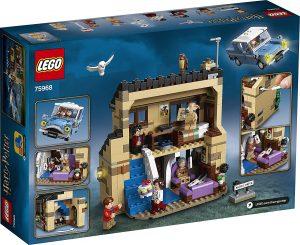 Sets de LEGO de coches - Juguete de construcción de LEGO de Ford Anglia 75968 de Harry Potter