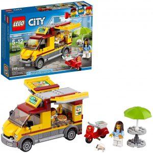 Sets de LEGO de furgonetas y caravanas - Juguete de construcción de LEGO City de Camión de Pizza 60150