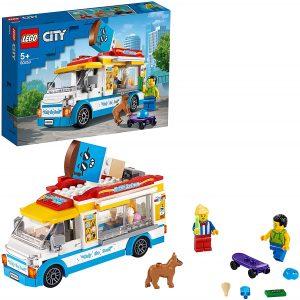 Sets de LEGO de furgonetas y caravanas - Juguete de construcción de LEGO Creator de Camión de los Helados 60253