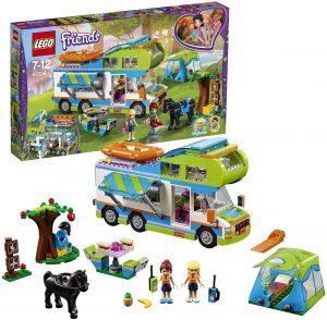 Sets de LEGO de furgonetas y caravanas - Juguete de construcción de LEGO Friends de Autocaravana de Mia 41339
