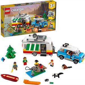 Sets de LEGO de furgonetas y caravanas - Juguete de construcción de LEGO de Familiares en Caravana Coche 31108
