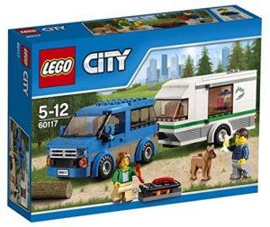 Sets de LEGO de furgonetas y caravanas - Juguete de construcción de LEGO de Furgoneta y Caravana 60117