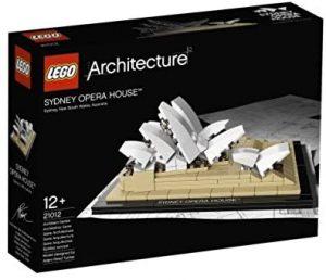 Sets de LEGO de la Ópera de Sídney - Juguete de construcción de LEGO Architecture de la Ópera de Sydney 21012