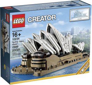 Sets de LEGO de la Ópera de Sídney - Juguete de construcción de LEGO Creator de la Ópera de Sydney 10234