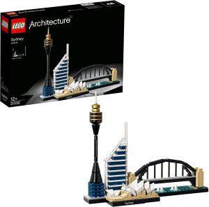 Sets de LEGO de la Ópera de Sydney - Sídney - Juguete de construcción de LEGO Architecture de la Ciudad de Sídney 21032