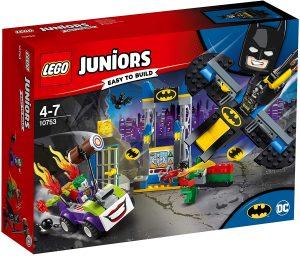 Sets de LEGO de la Batcueva - Batcave - Juguete de construcción de LEGO de Batman de DC de Ataque del Joker en la Batcueva 10753