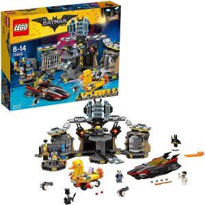 Sets de LEGO de la Batcueva - Batcave - Juguete de construcción de LEGO de Batman de DC de Intrusos en la Batcueva de la Legopelícula de Batman 70909