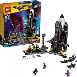 Sets de LEGO de la Batcueva - Batcave - Juguete de construcción de LEGO de Batman de DC de Transbordador Espacial de Batman en la Batcueva 70923