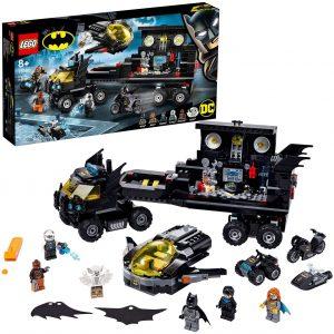 Sets de LEGO de la Batcueva - Batcave - Juguete de construcción de LEGO de Batman de DC de la Batbase de la Batcueva 76160