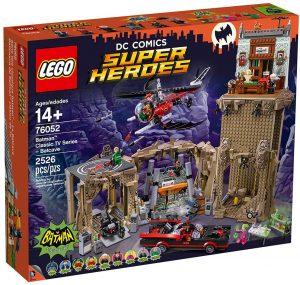 Sets de LEGO de la Batcueva - Batcave - Juguete de construcción de LEGO de Batman de DC de la Batcueva Clásica de la serie de Batman 76052