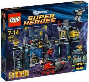 Sets de LEGO de la Batcueva - Batcave - Juguete de construcción de LEGO de Batman de DC de la Batcueva de DC Universe 6860