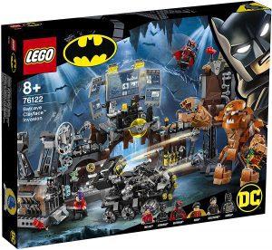 Sets de LEGO de la Batcueva - Batcave - Juguete de construcción de LEGO de Batman de DC del Asalto de Clayface a la Batcueva 76122