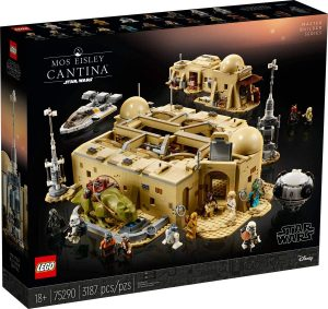 Sets de LEGO de la Cantina de Mos Eisley Star Wars - Juguete de construcción de LEGO de la Cantina de Mos Eisley 75290