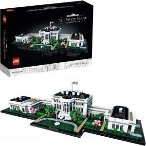 Sets de LEGO de la Casa Blanca - The White House - Juguete de construcción de LEGO Architecture de la Casa Blanca 21054