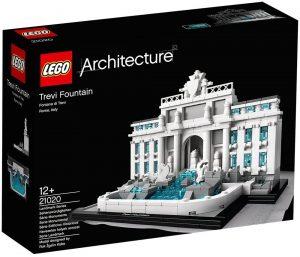Sets de LEGO de la Fontana di Trevi - Juguete de construcción de LEGO Architecture de la Fontana de Trevi 21020