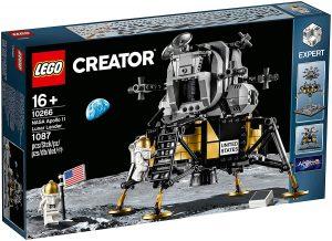 Sets de LEGO de la NASA - Juguete de construcción de LEGO de Apollo 11 Lunar Lander de LEGO Ideas NASA 10266