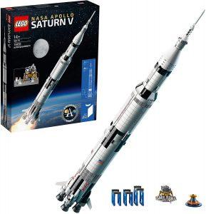 Sets de LEGO de la NASA - Juguete de construcción de LEGO de Apolo Saturno V de LEGO Ideas NASA 82176